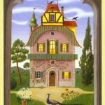 significado de la carta la casa en la tirada de tarot de lenormand