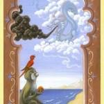 significado de la carta las nubes en la tirada de tarot de lenormand