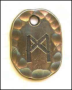 significado de la runa man en la tirada de runas
