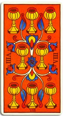 carta ocho de copas tirada tarot marzo 2012 para el signo tauro