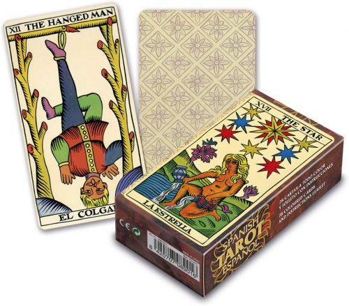 baraja de cartas de tarot clasica fournier